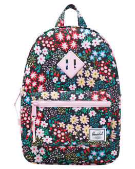 MULTI FLORAL KIDS GIRLS HERSCHEL SUPPLY CO BAGS + BACKPACKS - 10313-02563-OSMLTFL