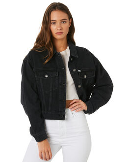 BEAT BLACK WOMENS CLOTHING RIDERS BY LEE JACKETS - R-551563-KC1
