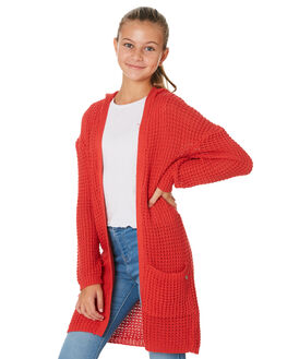RED KIDS GIRLS EVES SISTER JUMPERS + JACKETS - 9530013RED