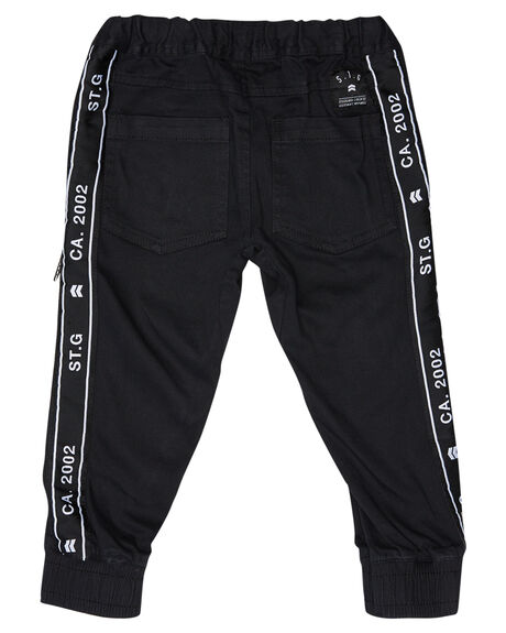 BLACK KIDS BOYS ST GOLIATH PANTS - 2833041BLK