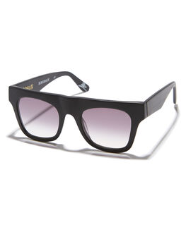 MATTE BLACK MENS ACCESSORIES VIEUX EYEWEAR SUNGLASSES - VX006BMTBLK