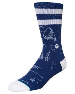 BLUE MENS ACCESSORIES STANCE SOCKS + UNDERWEAR - M556C17NAVBLU