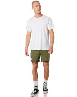 OLIVE MENS CLOTHING THE CRITICAL SLIDE SOCIETY BOARDSHORTS - BS1904OLI