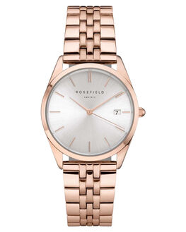SILVER ROSE GOLD WOMENS ACCESSORIES ROSEFIELD WATCHES - ACSR-A14SILRG