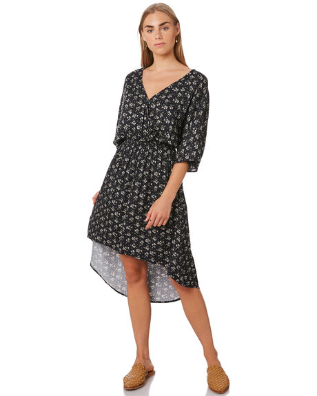 IRIS FLORAL WOMENS CLOTHING SWELL DRESSES - S8202448IRIS