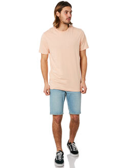 HAZEY PINK MENS CLOTHING VOLCOM TEES - A5011530HZP