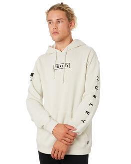 LIGHT BONE MENS CLOTHING HURLEY JUMPERS - CJ9982072