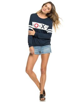 DRESS BLUES WOMENS CLOTHING ROXY TEES - ERJZT04503-BTK0