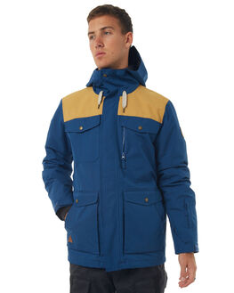 ESTATE BLUE SNOW OUTERWEAR QUIKSILVER JACKETS - EQYTJ03125BSW0
