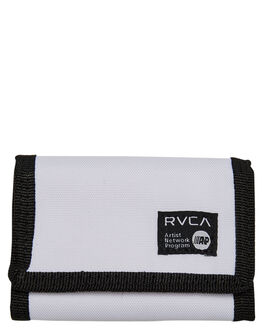 LIGHT GREY MENS ACCESSORIES RVCA WALLETS - R393491ALGRY