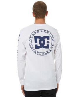 SNOW WHITE MENS CLOTHING DC SHOES TEES - UDYZT03406WBB0