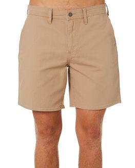 SAND CANVAS MENS CLOTHING LEE SHORTS - L-606570-MG9SNDCA