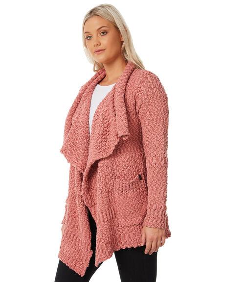 MAUVE WOMENS CLOTHING VOLCOM KNITS + CARDIGANS - B0711706MVE