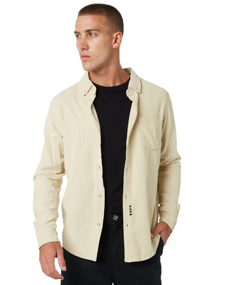 WASHED WHITE OUTLET MENS MISFIT SHIRTS - MT085405WSWHT