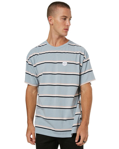 BLUE STRIPE MENS CLOTHING RPM TEES - 7HMT01ABSTRP