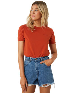 BURNT SPICE WOMENS CLOTHING WRANGLER TEES - W-951692-NF0