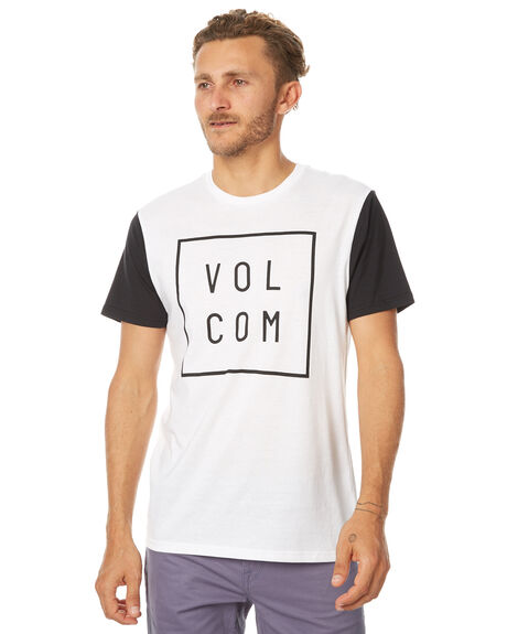 WHITE MENS CLOTHING VOLCOM TEES - A5031779WHT