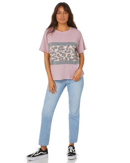 PINK WOMENS CLOTHING ALL ABOUT EVE TEES - 6446226PNK