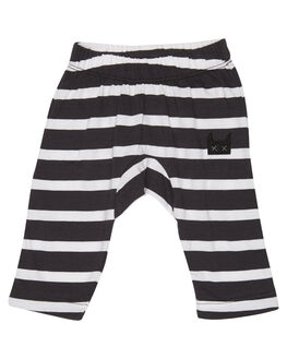 BLACK WHITE STRIPE KIDS BABY MUNSTER KIDS CLOTHING - MI181PA05BWS