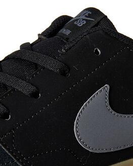 BLACK MENS FOOTWEAR NIKE SKATE SHOES - 880266-009