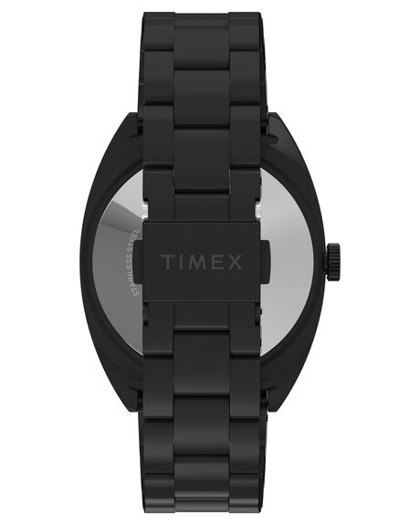 BLACK MENS ACCESSORIES TIMEX WATCHES - TW2U15500BLK