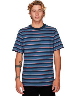 CHINA BLUE MENS CLOTHING RVCA TEES - RV-R192052-CNU