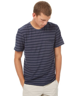 STORM INDIGO MENS CLOTHING OUTERKNOWN TEES - 1210039SIS