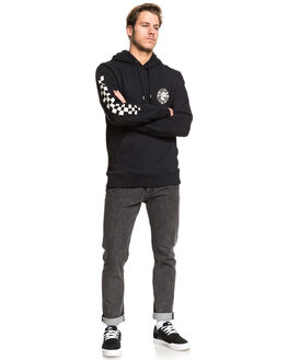 BLACK MENS CLOTHING QUIKSILVER JUMPERS - EQYFT04028-KVJ0