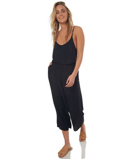 ANTHRACITE WOMENS CLOTHING ROXY PLAYSUITS + OVERALLS - ERJNP03150KVJ0