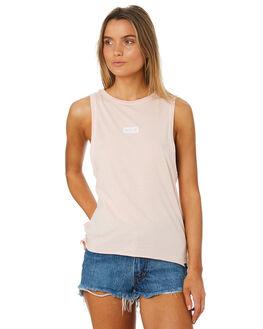 SEPIA STONE WOMENS CLOTHING HURLEY SINGLETS - AQ3200603
