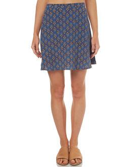 WASHED INDIGO WOMENS CLOTHING TIGERLILY SKIRTS - T372277WIND