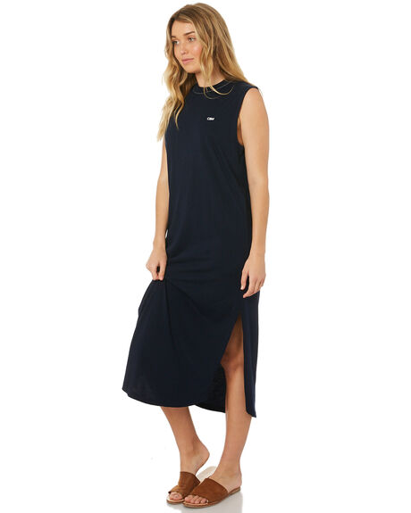 DARK NAVY WOMENS CLOTHING C&M CAMILLA AND MARC DRESSES - TCMD1543DNVY