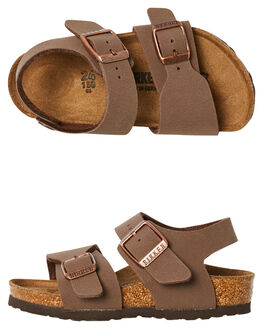 MOCCA KIDS TODDLER BOYS BIRKENSTOCK FOOTWEAR - 087783MOCCA