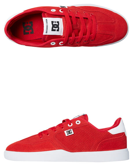 RED RED WHITE MENS FOOTWEAR DC SHOES SNEAKERS - ADYS100444XRRW
