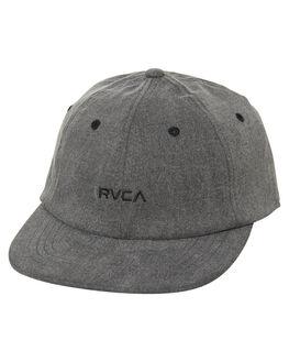DUSTY BLACK MENS ACCESSORIES RVCA HEADWEAR - R171572DDBLK
