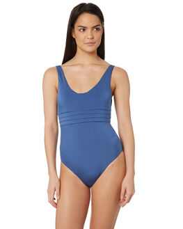 LUNAR BLUE WOMENS SWIMWEAR JETS ONE PIECES - J10494LUN