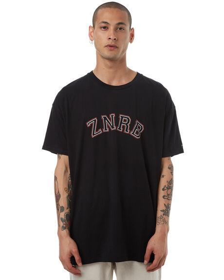 BLACK MENS CLOTHING ZANEROBE TEES - 145-LYKMBLK