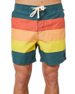 TEAL MENS CLOTHING THE CRITICAL SLIDE SOCIETY BOARDSHORTS - WSB1712TEA