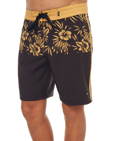 BLACK MENS CLOTHING SWELL BOARDSHORTS - S5183241BLK