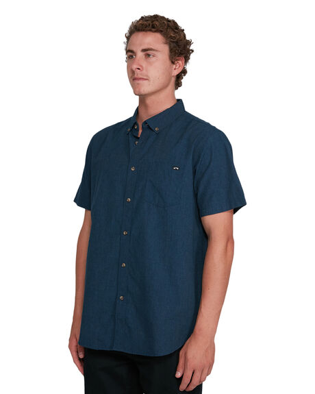 NAVY MENS CLOTHING BILLABONG SHIRTS - BB-9503200-NVY