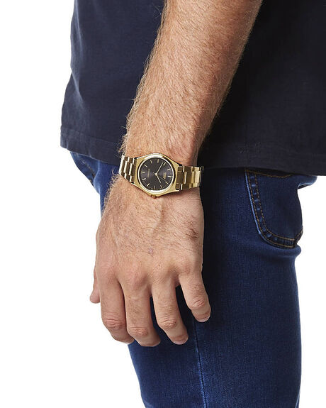 GOLD MENS ACCESSORIES CASIO WATCHES - MTP1130N-1AGLD