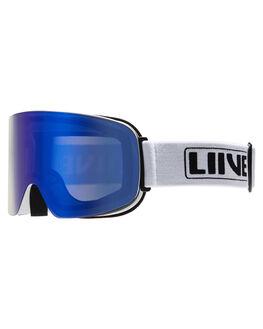WHITE BOARDSPORTS SNOW LIIVE VISION GOGGLES - L0691BWHT