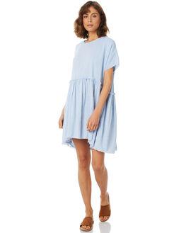 BLUEBELL WOMENS CLOTHING RUE STIIC DRESSES - SA18-21-B-Y-BLUB