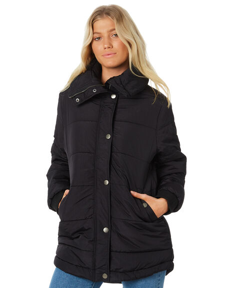 BLACK WOMENS CLOTHING ALL ABOUT EVE JACKETS - 6413079BLK