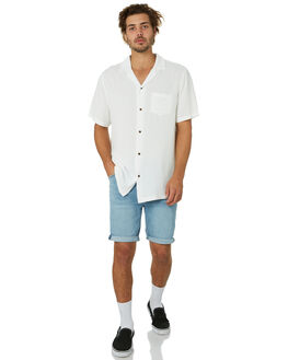 YELL BLUE MENS CLOTHING ABRAND SHORTS - 814924880