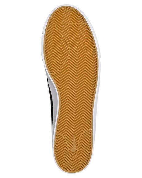 BLACK WHITE WOMENS FOOTWEAR NIKE SNEAKERS - SSAR7718-001W