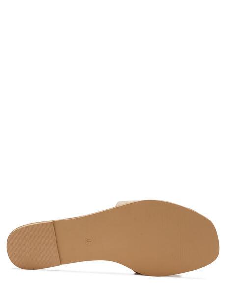 NUDE WOMENS FOOTWEAR BILLINI SLIDES - S681NUD