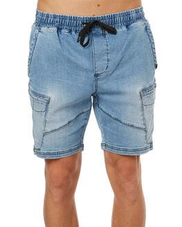 BLUE HAZE MENS CLOTHING GLOBE SHORTS - GB01716008BLUHZ