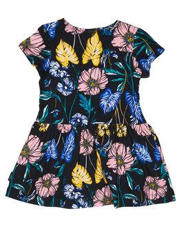 TOMORROW FLORAL BLACK KIDS BABY BONDS CLOTHING - BXJM4NM