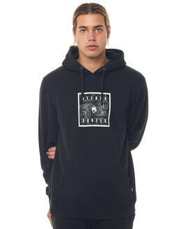 BLACK MENS CLOTHING AFENDS JUMPERS - M181507BLK